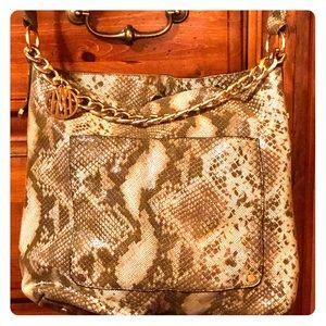Antonio Melani foux Snakeskin Handbag
